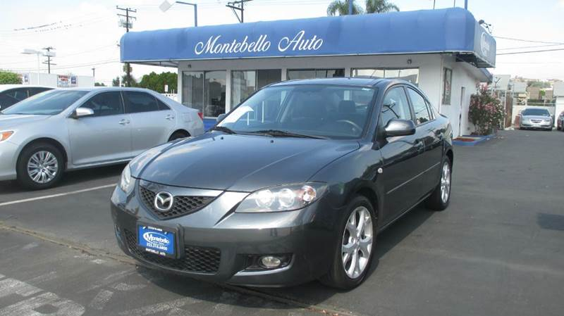 2008 MAZDA MAZDA3 I SPORT 4DR SEDAN 4A charcoal gray airbag deactivation - occupant sensing passe