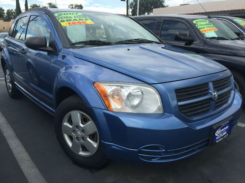 2007 DODGE CALIBER BASE 4DR WAGON blue cash price plus aplicable fees airbag deactivation - occup
