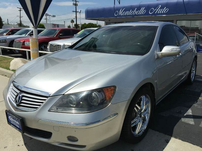 2005 ACURA RL SH-AWD 4DR SEDAN silver abs - 4-wheel anti-theft system - alarm cd changer cente