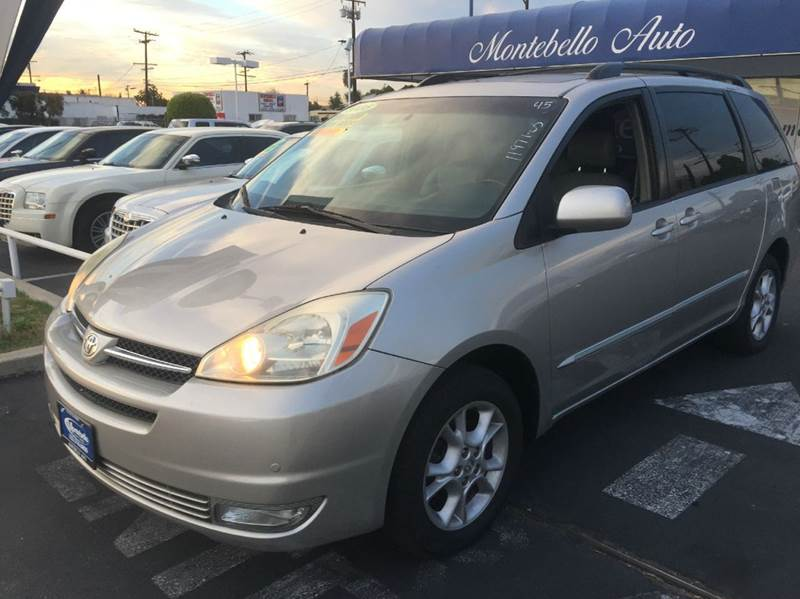 2005 TOYOTA SIENNA XLE LIMITED 7 PASSENGER AWD 4DR gray abs - 4-wheel anti-theft system - alarm