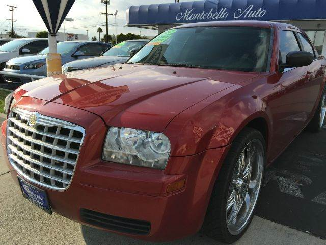 2007 CHRYSLER 300 BASE 4DR SEDAN metallic marron 2-stage unlocking - remote airbag deactivation