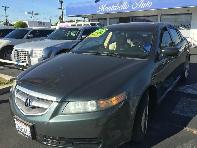 2004 ACURA TL 32 WNAVI 4DR SEDAN green abs - 4-wheel anti-theft system - alarm cd changer ce