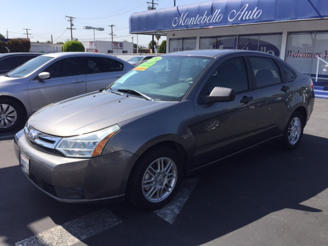 2010 FORD FOCUS SE 4DR SEDAN gray abs - 4-wheel airbag deactivation - occupant sensing passenger