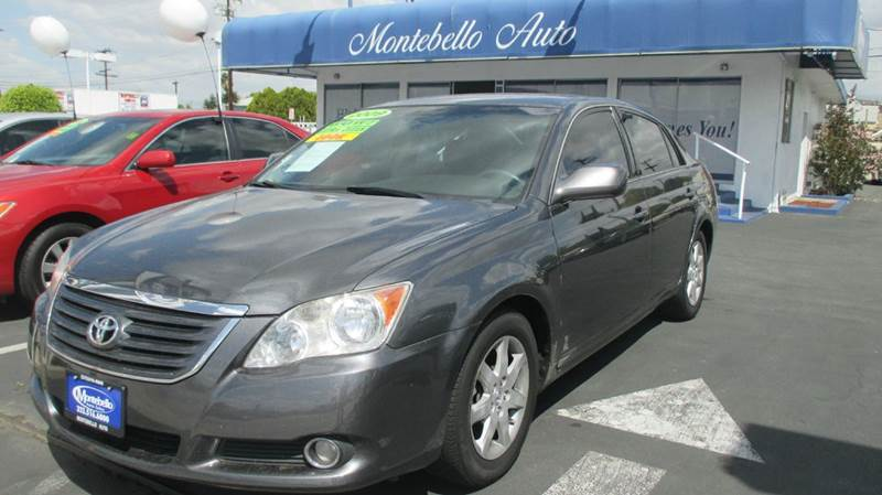 2008 TOYOTA AVALON TOURING 4DR SEDAN gray abs - 4-wheel air filtration anti-theft system - engi