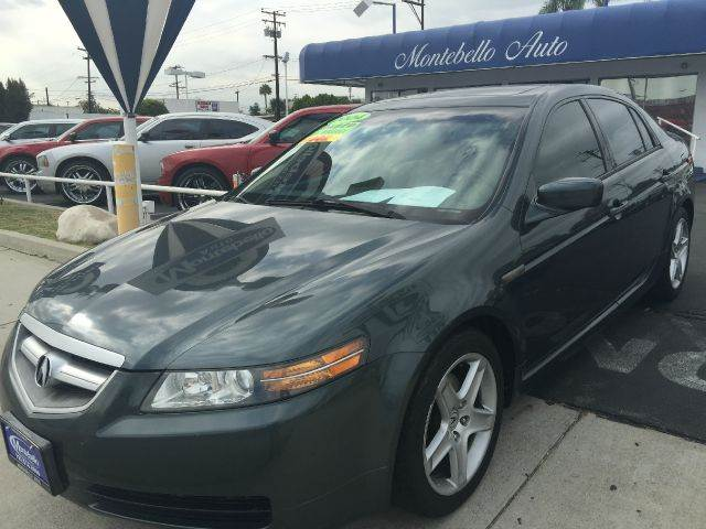 2004 ACURA TL 32 4DR SEDAN dark military green abs - 4-wheel anti-theft system - alarm cd chan