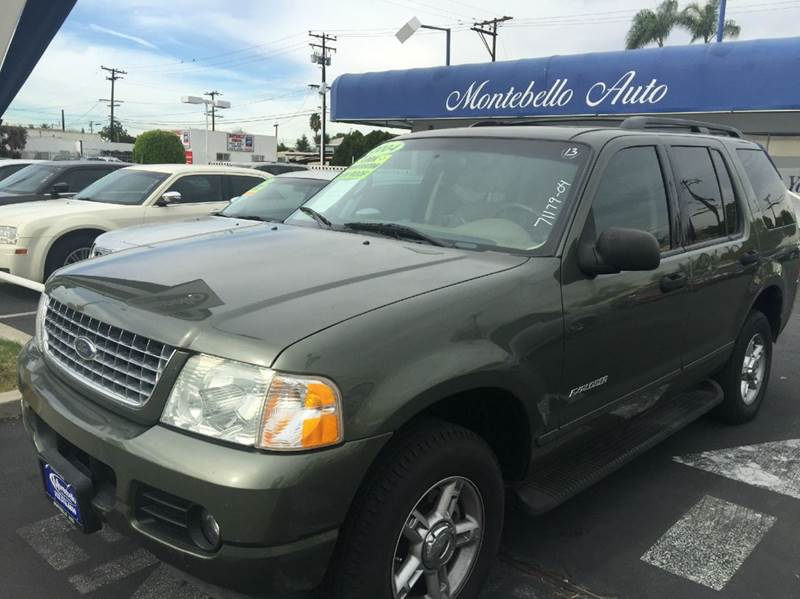 2004 FORD EXPLORER XLT 4DR SUV green abs - 4-wheel anti-theft system - alarm axle ratio - 355