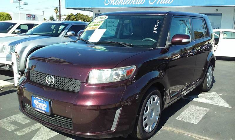 2009 SCION XB BASE 4DR WAGON 5M marron abs - 4-wheel airbag deactivation - occupant sensing pass
