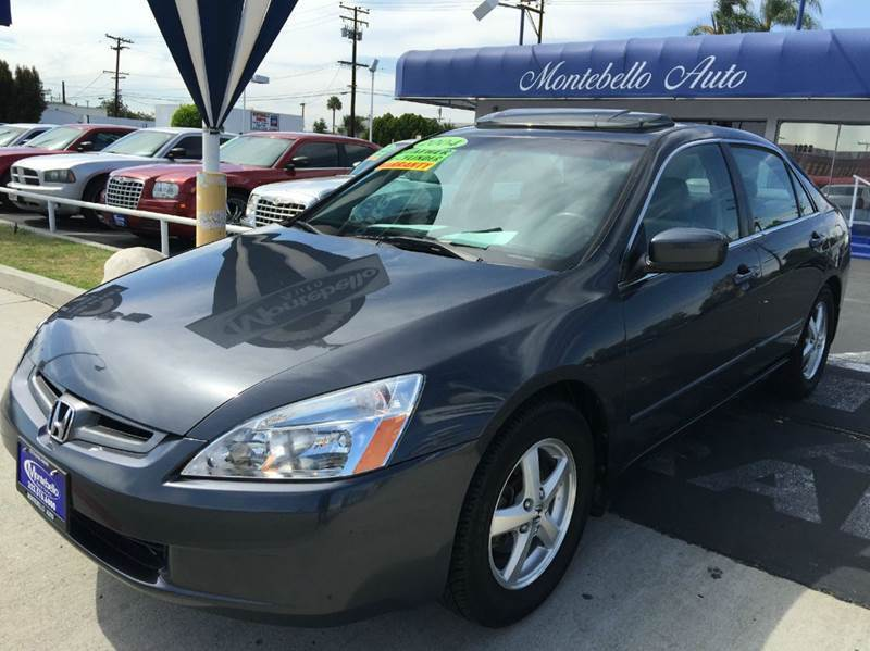 2004 HONDA ACCORD EX WLEATHER 4DR SEDAN gray cash price  plus aplicable  fees abs - 4-wheel ant