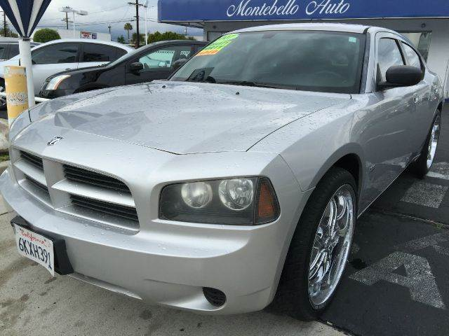 2007 DODGE CHARGER BASE 4DR SEDAN silver cash price  plus aplicable  fees 2-stage unlocking - rem