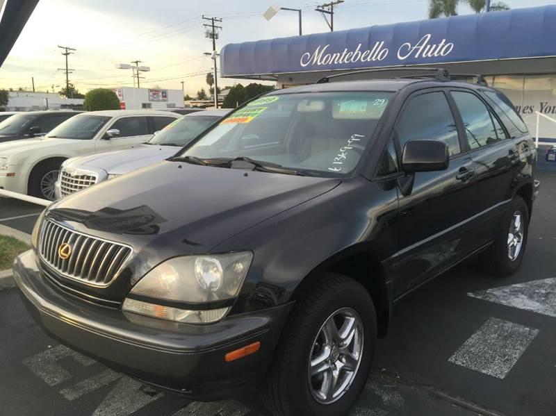 1999 LEXUS RX 300 BASE 4DR SUV black abs - 4-wheel antenna type - power anti-theft system - ala