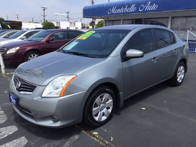 2012 NISSAN SENTRA 20 S 4DR SEDAN gray 2-stage unlocking doors abs - 4-wheel active head restr