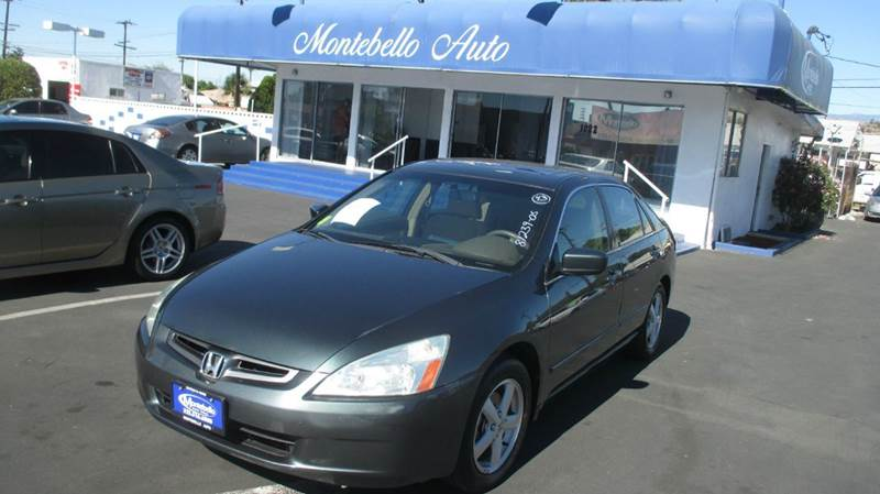 2005 HONDA ACCORD EX 4DR SEDAN green abs - 4-wheel anti-theft system - alarm cd changer center