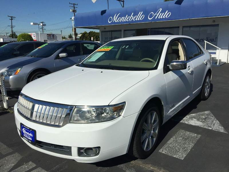 2007 LINCOLN MKZ BASE AWD 4DR SEDAN white 2-stage unlocking doors 4wd type - full time abs - 4-