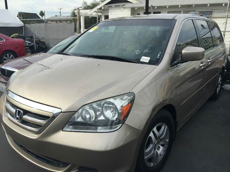 2006 HONDA ODYSSEY EX 4DR MINI VAN gold cash price plus aplicable fees abs - 4-wheel air filtrat