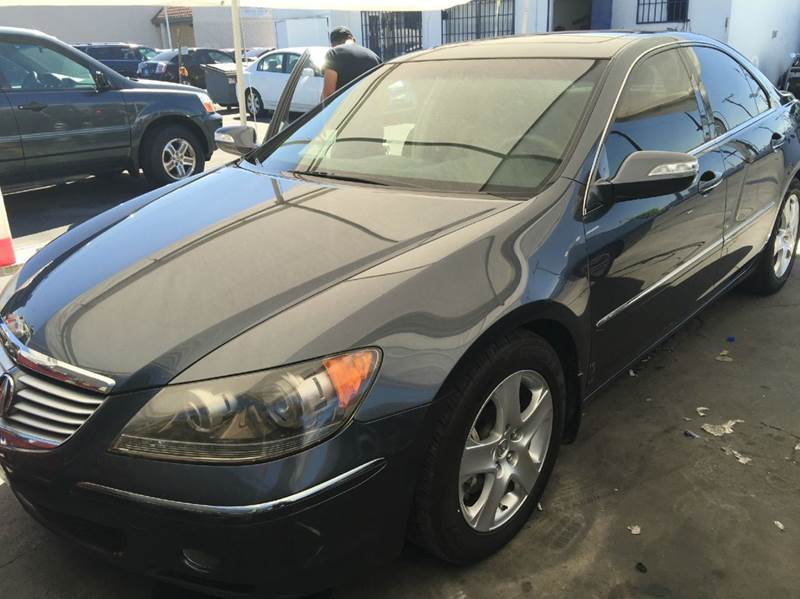 2007 ACURA RL SH-AWD WTECH 4DR SEDAN WTECHNO gray cash price plus aplicable fees 2-stage unlocki