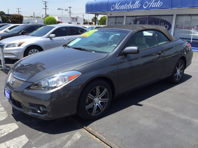 2007 TOYOTA CAMRY SOLARA SLE V6 2DR CONVERTIBLE gray 2-stage unlocking doors abs - 4-wheel air