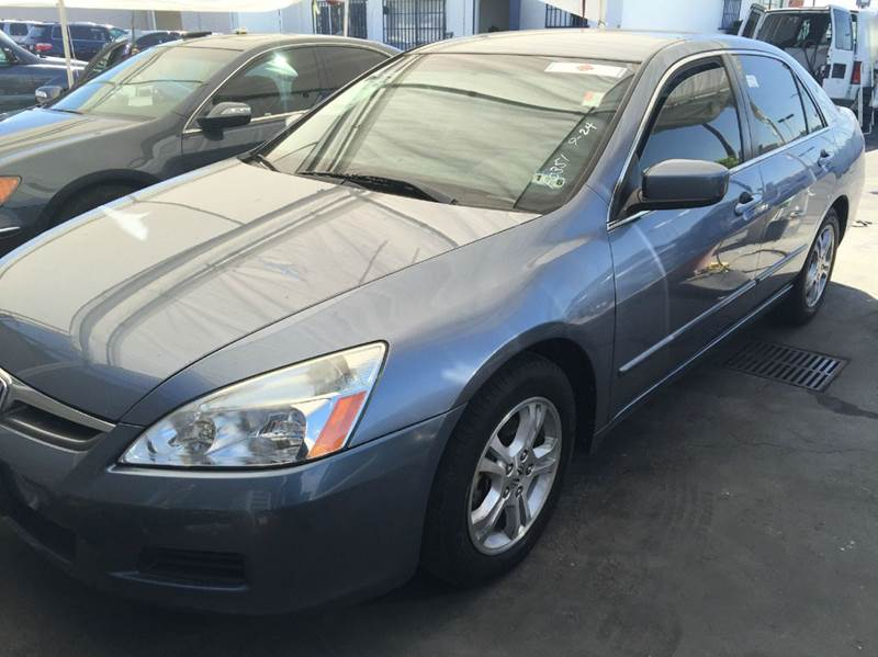 2007 HONDA ACCORD SPECIAL EDITION 4DR SEDAN 24L blue cash price plus aplicable fees 2-stage unl