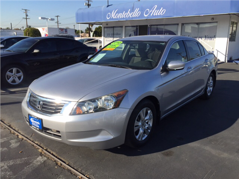 2010 Honda Accord for sale in Montebello, CA