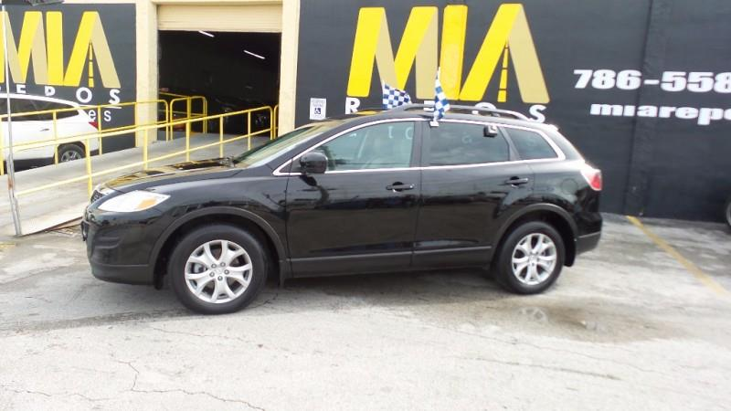 2011 MAZDA CX-9 TOURING AWD 4DR SUV black well maintained very clean interior runs  drives great