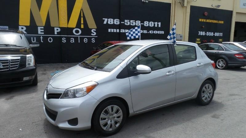 2014 TOYOTA YARIS 5DR LIFTBACK MAN SE TMCCBU PLA silver all scheduled maintenance highway mile