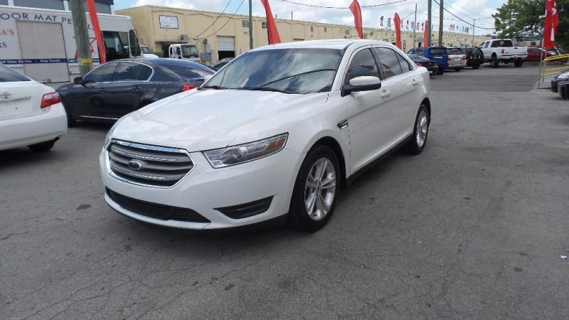 2013 FORD TAURUS SEL 4DR SEDAN white wwwmiareposcom   only 500 downpayment and we will get you