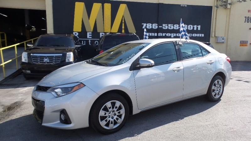 2015 TOYOTA COROLLA L 4DR SEDAN 4A silver all scheduled maintenance one owner no accidents mus