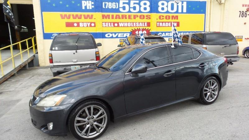 2008 LEXUS IS 250 BASE 4DR SEDAN 6A gray wwwmiareposcom   only 500 downpayment and we will get