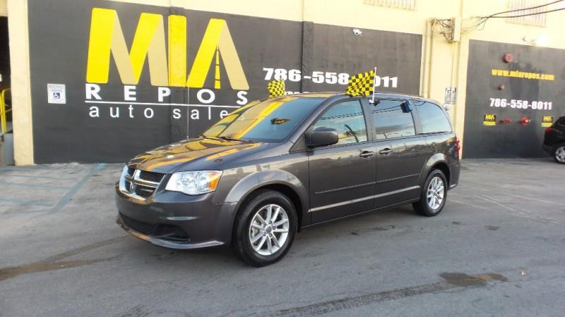 2016 DODGE GRAND CARAVAN 4DR WGN SXT gray well maintained very clean interior runs  drives grea