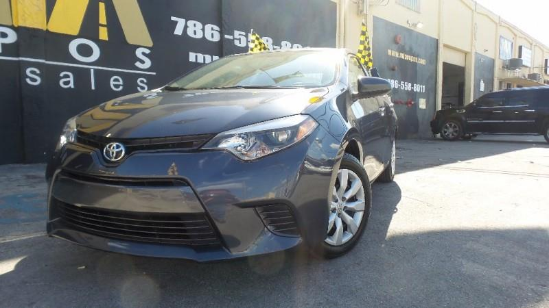 2016 TOYOTA COROLLA L 4DR SEDAN 4A gray well maintained runs  drives great highway miles ice c