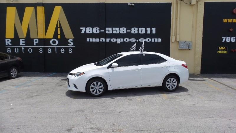 2016 TOYOTA COROLLA L 4DR SEDAN 4A white well maintained very clean interior runs  drives great