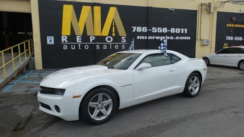 2012 Chevrolet Camaro for sale in Hialeah Gardens, FL