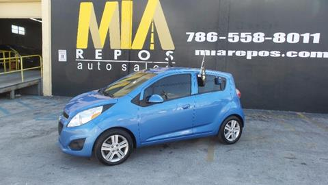 2013 Chevrolet Spark for sale in Hialeah Gardens, FL