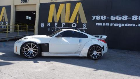 2008 Nissan 350Z for sale in Hialeah Gardens, FL