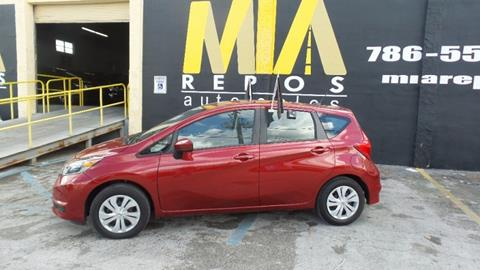 2017 Nissan Versa Note for sale in Hialeah Gardens, FL