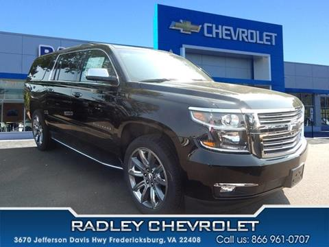 2017 Chevrolet Suburban for sale in Fredericksburg VA