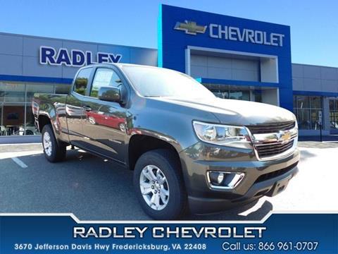 2018 Chevrolet Colorado for sale in Fredericksburg VA