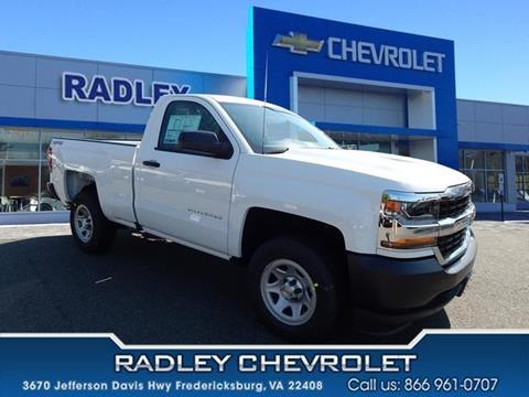 2017 Chevrolet Silverado 1500 for sale in Fredericksburg, VA