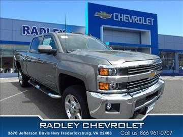 2017 Chevrolet Silverado 2500HD for sale in Fredericksburg, VA