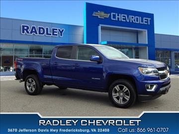 2016 Chevrolet Colorado For Sale Virginia Carsforsale Com