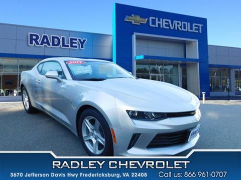 2017 Chevrolet Camaro for sale in Fredericksburg, VA