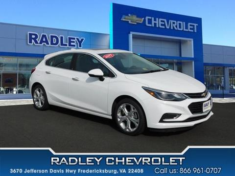 2017 Chevrolet Cruze for sale in Fredericksburg VA