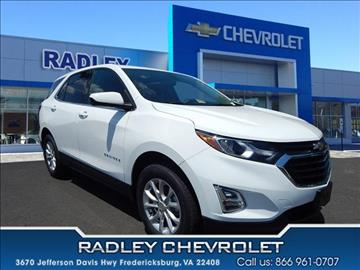 2018 Chevrolet Equinox for sale in Fredericksburg, VA