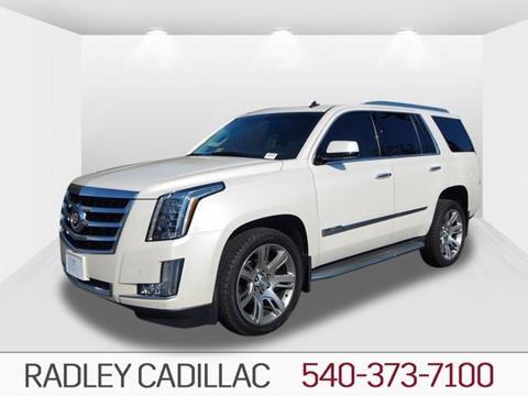 2015 Cadillac Escalade for sale in Fredericksburg VA