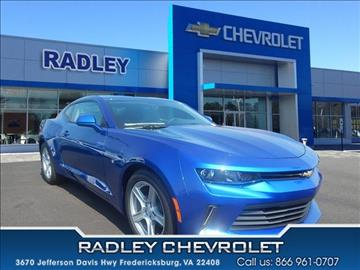 2018 Chevrolet Camaro for sale in Fredericksburg, VA