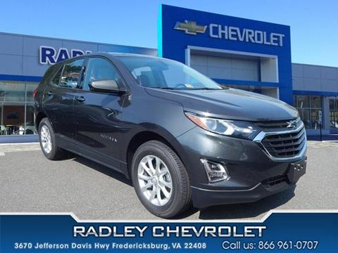 2018 Chevrolet Equinox for sale in Fredericksburg VA