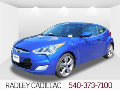 2013 Hyundai Veloster for sale in Fredericksburg VA