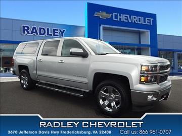 Used Chevrolet Trucks For Sale Fredericksburg Va