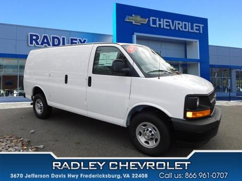 2017 Chevrolet Express Cargo for sale in Fredericksburg VA