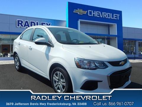 2017 Chevrolet Sonic for sale in Fredericksburg VA