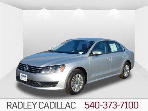 2015 Volkswagen Passat for sale in Fredericksburg, VA